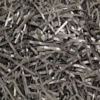 METALLIC SILVER SHREDDED FOIL TISSUE PAPER